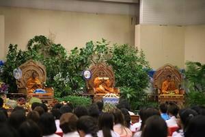 """มทร.รัตนโกสินทร์ จัดโครงการค่ายจริยธรรม คุณธรรม  เรื่อง """"การส่งเสริมจริยธรรม คุณธรรม ในสังคมไทย ด้วยการเทศน์มหาชาติ สวดคาถาพัน เทศน์มหาชาติ 13 กัณฑ์"""""""