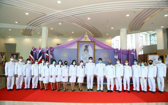พิธีถวายราชสดุดีเฉลิมพระเกียรติสมเด็จพระนางเจ้าสุทิดา พัชรสุธาพิมลลักษณ พระบรมราชินี เนื่องในโอกาสวันเฉลิมพระชนมพรรษา 3 มิถุนายน 2563